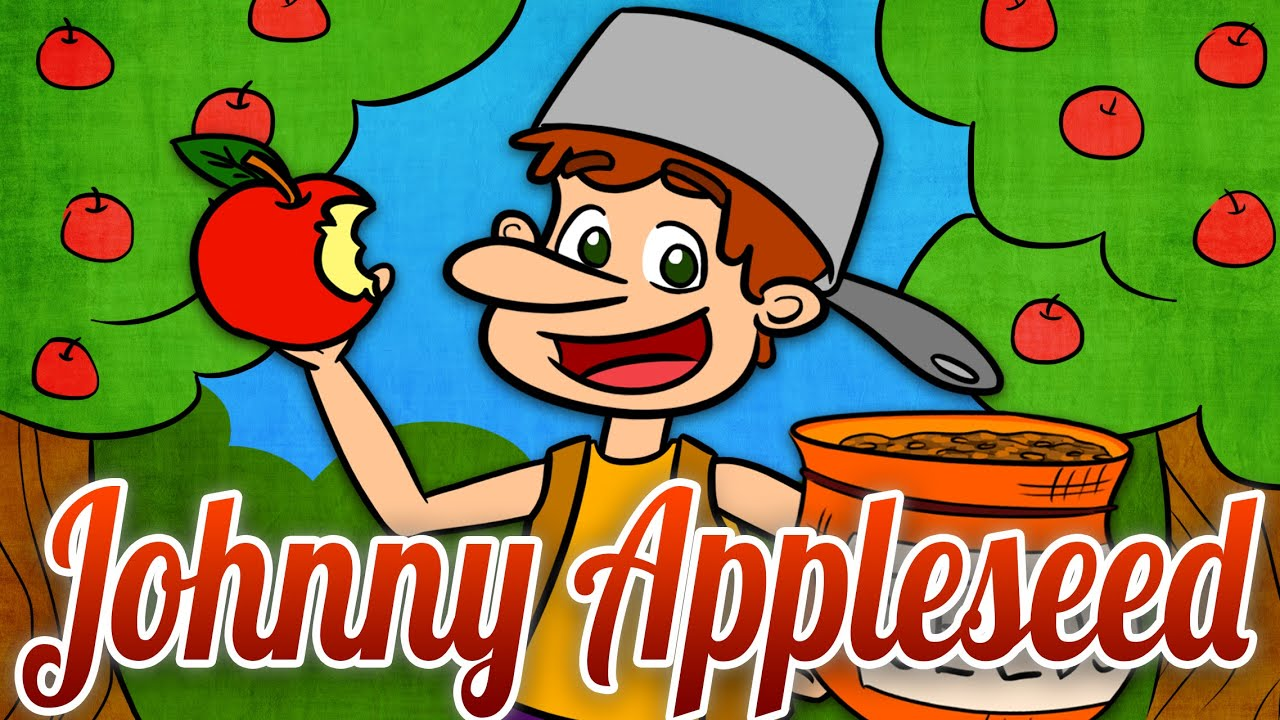 johnny appleseed birthday Johnny Appleseed | Folk Tale Time | A Cool School Folk Tale   YouTube johnny appleseed birthday