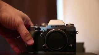 Fujifilm Fuji X-T1 Graphite & XF 56mm 1.2 lens Unboxing / Eyecup EC-XTL