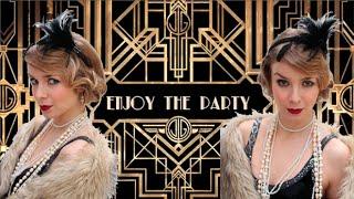 Great Gatsby Hair & Makeup Tutorial / Anos 20 - SÉRIE CARNAVAL | Alice - Golden Locks