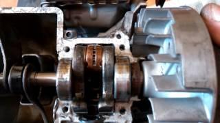 видео Глушитель на двигатель Honda GX 35