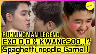 [RUNNINGMAN THE LEGEND] KWANGSOO & EXO D.O is KISSING...!?😨😨 (ENG SUB)