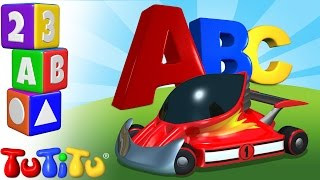 TuTiTu Preschool | ABC Song | Race Cars | Learning the Alphabet with TuTiTu