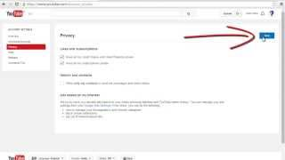 How To Make Subscription And Like Public In Your Youtube Account?