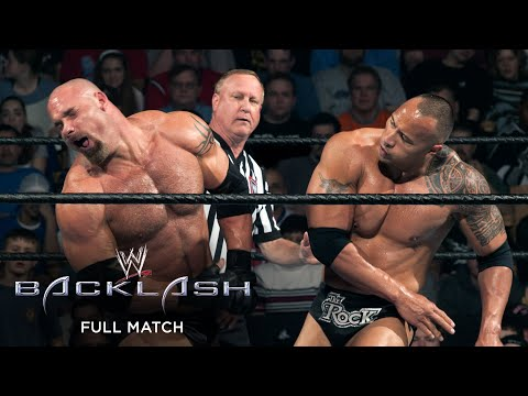 FULL MATCH - The Rock Vs. Goldberg: Backlash 2003