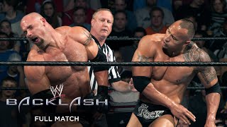 FULL MATCH - The Rock vs. Goldberg: Backlash 2003