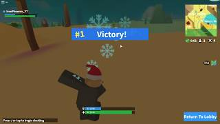 Airdrop *ONLY* Challenge In Roblox Island Royale!