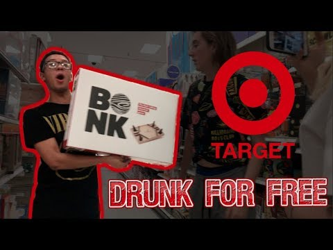 HOW TO GET FREE ALCOHOL IN TARGET (LITERALLY)