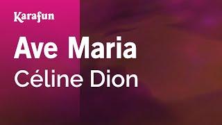 Karaoke Ave Maria - Céline Dion *