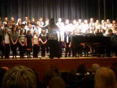 James Wood Middle School Chorus - Christmas 2013