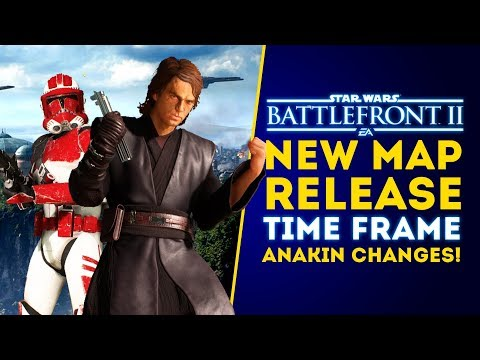 New Map Release Time Frame for May! Map Rotation & Anakin Changes! - Star Wars Battlefront 2 Update thumbnail