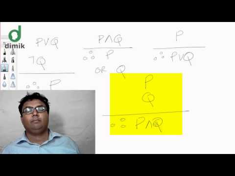CS101 - Discrete Mathematics - Rules of Inference (রুলস অব ইনফারেন্স)