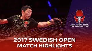 2017 Swedish Open Highlights: Fan Zhendong vs Xu Xin (Final)