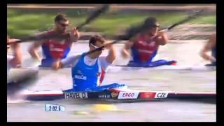 Четверац Србије четврти, К-4 1000 метара, Москва 2014.