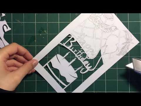 DIY Paper Birthday Card