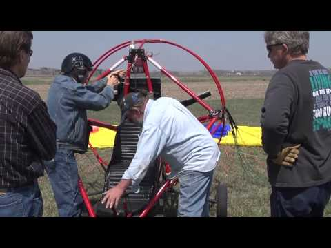 Powered Parachute, Springfield, Nebraska 4-27-13