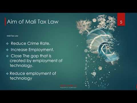 Mali Tax Law