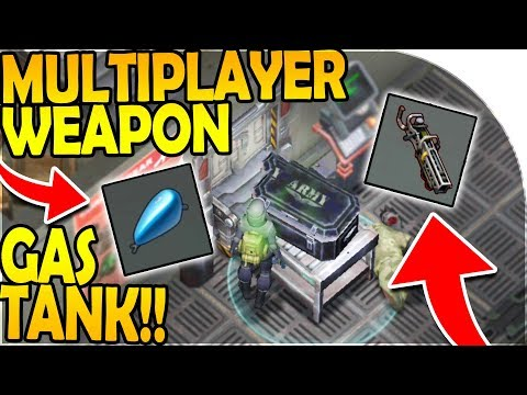 NEW MULTIPLAYER WEAPON + ZONE INBOUND (WE GOT A GAS TANK!) - Last Day On Earth Survival Update 1.8.2