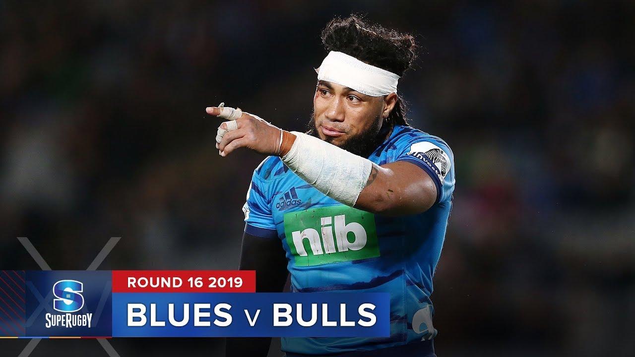 Blues v Bulls | Super Rugby 2019 Rd 16 Highlights