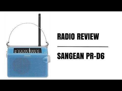 Radio Review:  Sangean PR-D6 AM/FM Radio