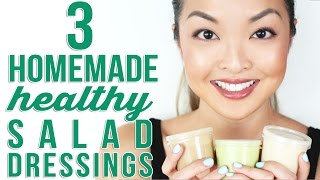 3 Homemade Healthy Salad Dressing Recipes | Chiutips