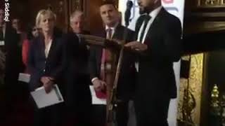 Holy Quran Rectal in the British Parliament during Ramadan Fast in 2018.