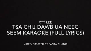 Tsa Chij Dawb Ua Neeg Seem (Karaoke) ~ Xyy Lee