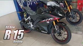 Review All New Yamaha R15 Warna hitam - Fitur Baru Dan Design Lebih Sporty