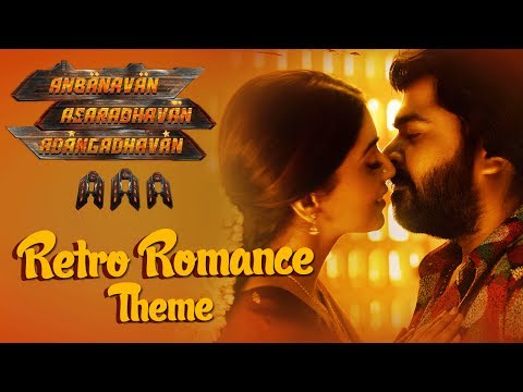AAA Tamil Songs ► Retro Romance Theme Song  STR, Shirya Saran, Tamannaah  Yuvan Shankar Raja