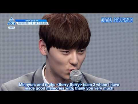 [ENG] Produce 101 Season 2 EP 5 | Rank 11 - 10 (Minhyun, Haknyeon)