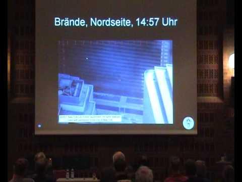 [RL] 1/2 Niels Harrit: Explosive Evidence / Explosive Beweise Hamburg Vortrag mit Slides auf Deutsch