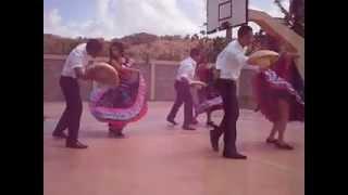 Grupo de baile del Liceo Juan Ant. Collado