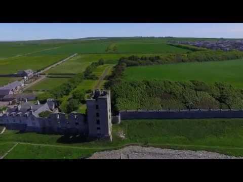 Thurso Castle Drone Flight 6th June 2016