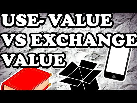 KARL MARX/ USE-VALUE VS EXCHANGE- VALUE