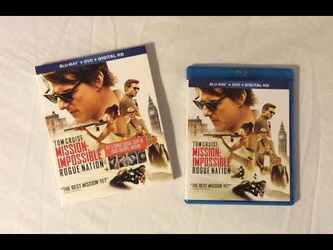 Download Mission Impossible Rogue Nation (2015) Blu Ray Review and Unboxing