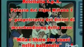 mila e shiro la sigla finale italiana