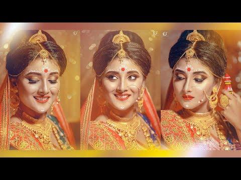 Indian Bridal Makeover Bengali | Makeover Artist Gargi Roy | Photographer LOukik Das |