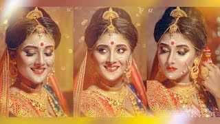 Indian Bridal Makeover Bengali | Makeover Artist Gargi Roy | Photographer LOukik Das |