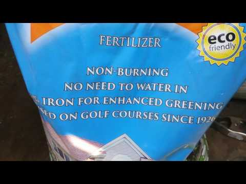 THE BEST ORGANIC FERTILIZER FOR YOUR LAWN.
