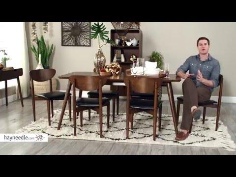 82d33eb447 Belham Living Carter Collection Rectangular Dining Set - Product Review  Video