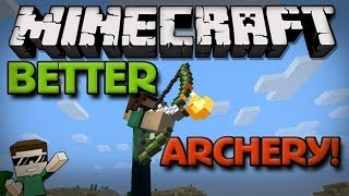 Minecraft Mods - Better Archery Mod: NEW BOWS AND ARROWS! (1.6.4)