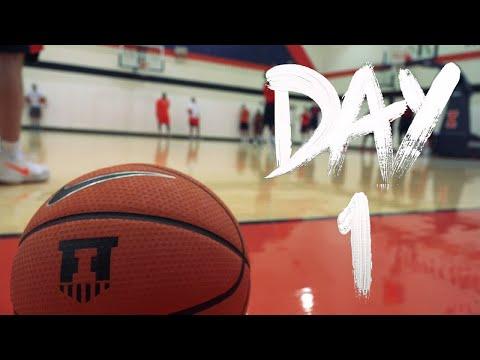Illini Basketball Begins Practice