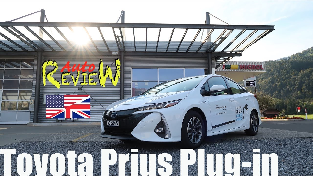 Toyota Prius Plug In Hybrid 1.8 VVT I (2018) | Auto Review | Switzerland |  Episode 81 [ENG]