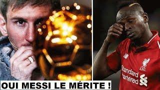 Messi Devient Le Meilleur Joueur De L'histoire /manÉ Hors Podium A Cause De Sa Couleur De Peau ?#968