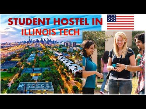 University Hostel Life In USA ! Illinois Tech, Chicago - Dorm Tour
