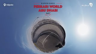 The FASTEST Rollercoaster In The World!   Ferrari World Abu Dhabi   360 Video   Tripoto