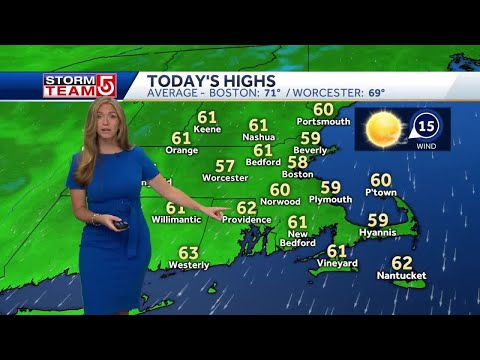 Video: Chilly temperatures to linger until midweek
