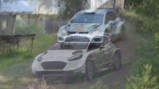 Sebastien Ogier: Ford vs VW WRC -Same test road!