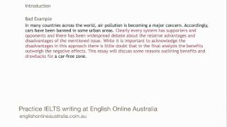 IELTS Writing Lesson 7 - Task 2 Opinion Essay (Thesis-led Approach)