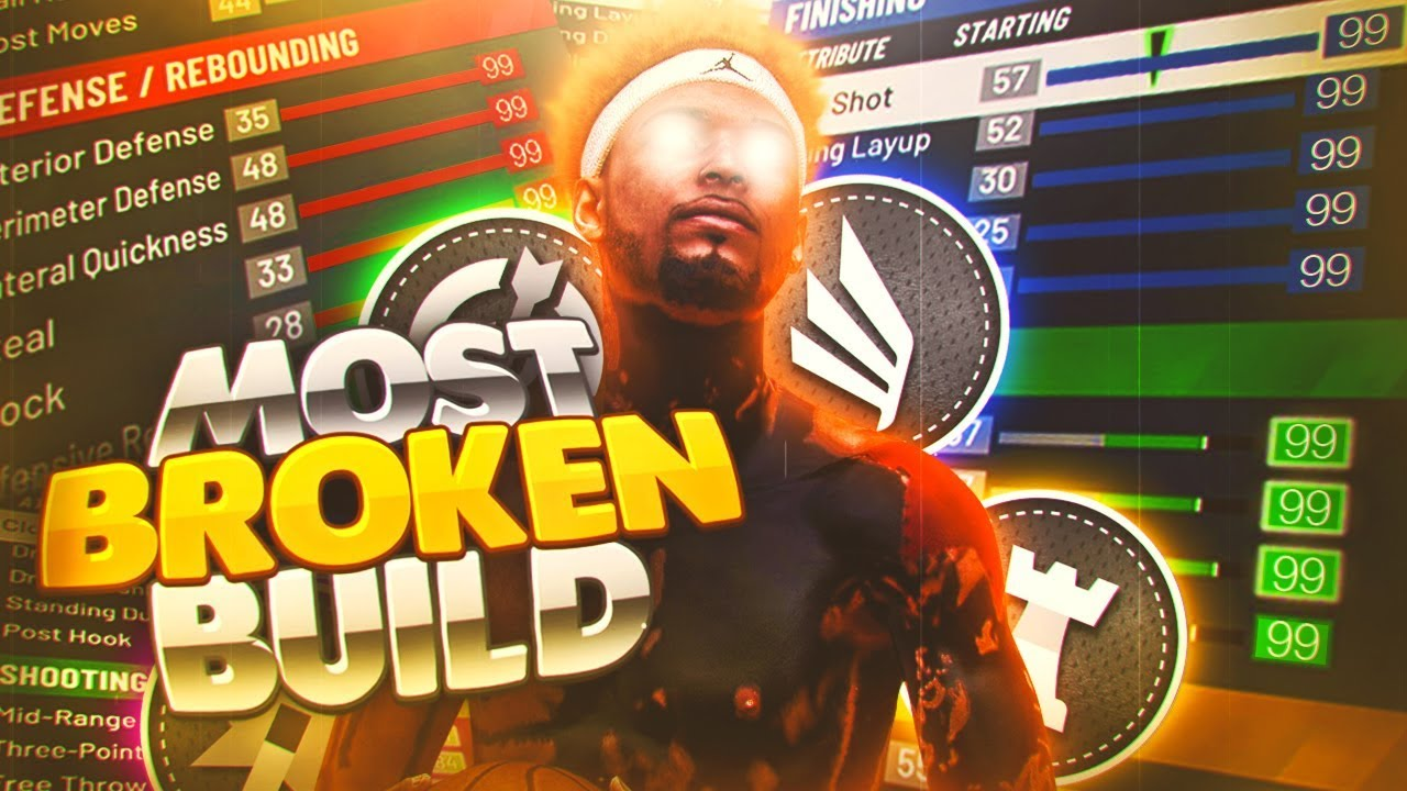 I FOUND THE MOST BROKEN PLAYER BUILD ON NBA 2K20(NOT CLICKBAIT) THIS LEGEND BUILD CAN DO EVERYTHING!