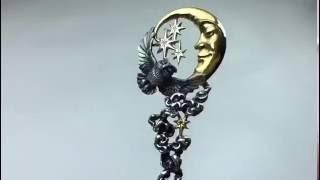видео Серебряные кофейные ложки